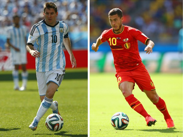 Antecedentes Argentina vs Belgica cuartos de final Brasil 2014