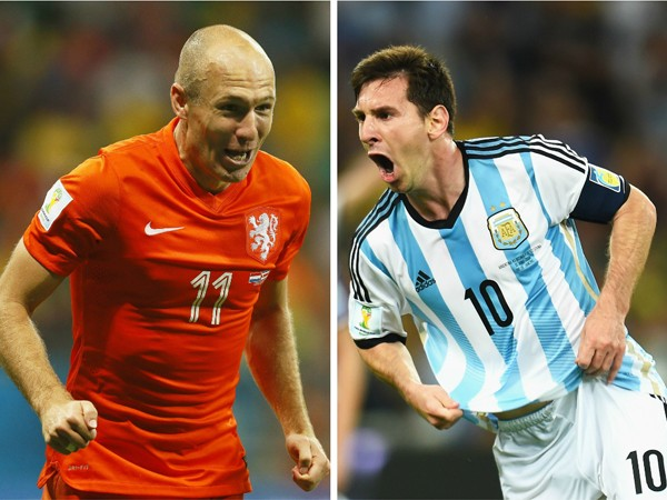 [Mundial 2014] Argentina vs. Holanda - Semifinal