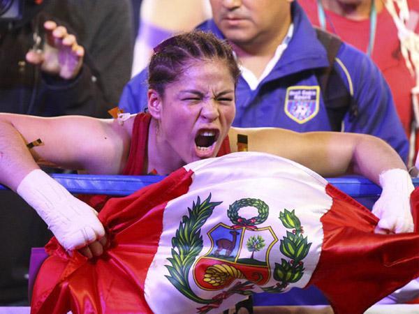 Linda Lecca retuvo su título mundial ante la mexicana Guadalupe Martínez
